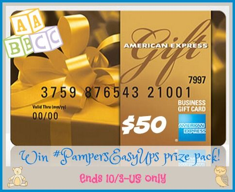 Win Pampers Easy Ups With 50 Amex Gc Us 10 3 Pamperseasyups American Express Gift Card Express Gifts Gift Card Balance