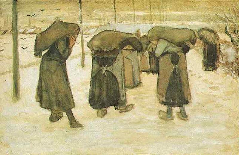 Porteuses de charbon (V van Gogh - F 994 / JH 253)