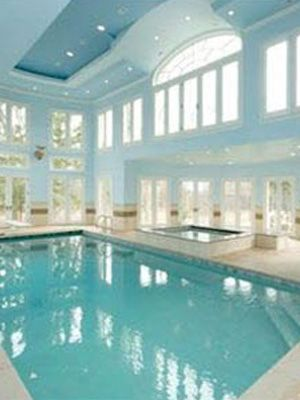 .this will be my pool house at my beach house in the hamptons that I will never own