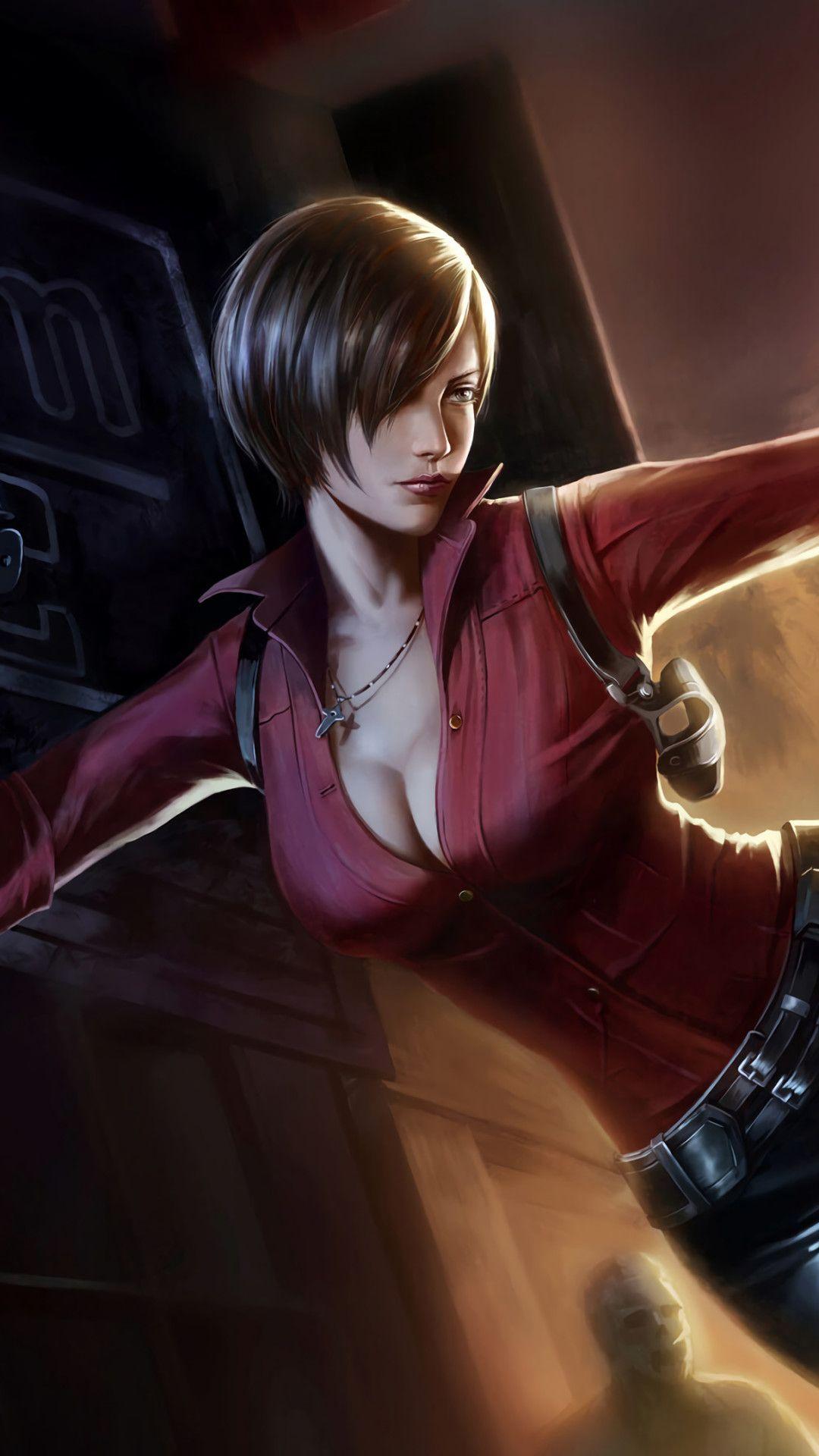 Ada Wong Resident Evil 2 4k Art Mobile Wallpaper Iphone Android