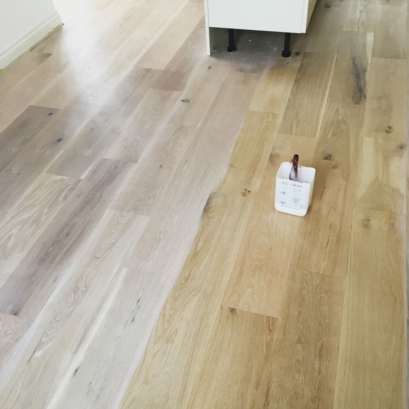 White Wash Natural Oak