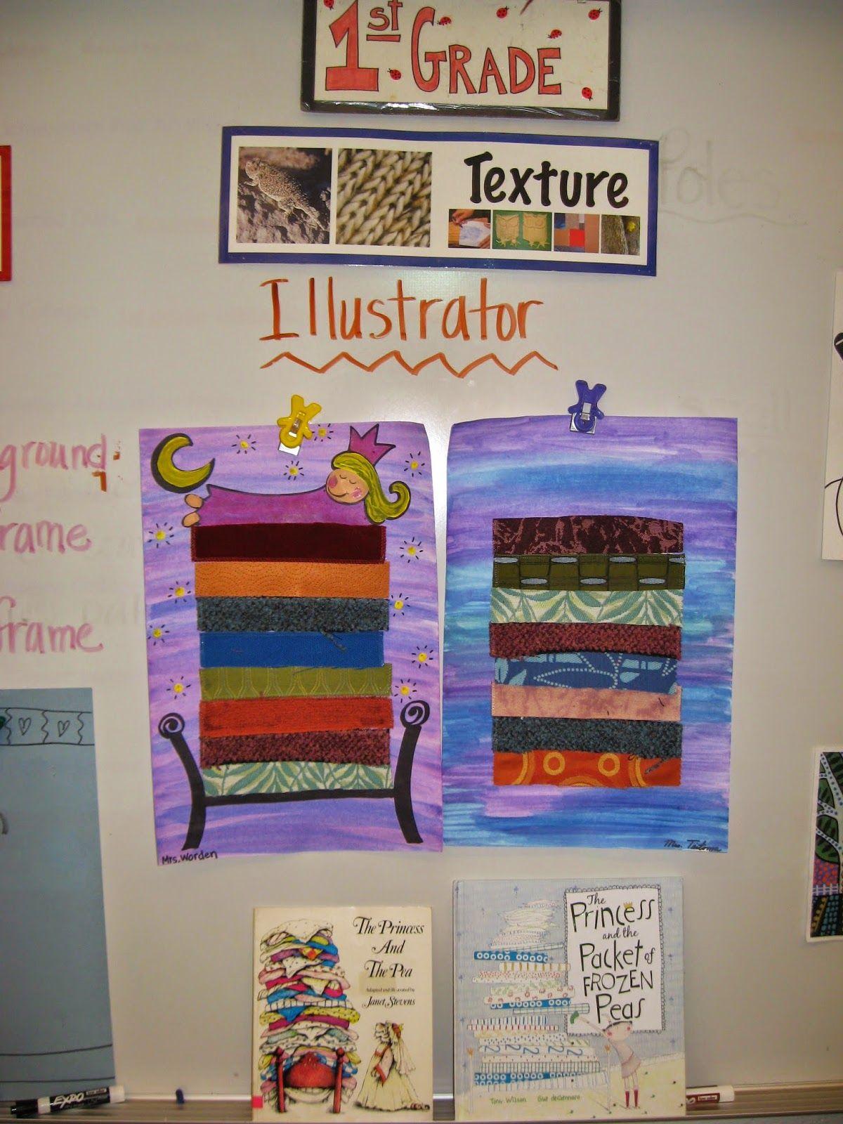 Jamestown Elementary Art Blog 1st Grade Princess And The