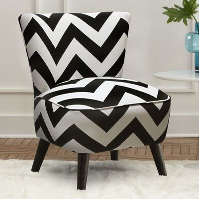 Best Mid Century Chevron Chair Wayfair Skyline Furniture 640 x 480