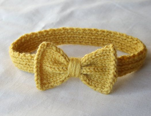 So cute! Knitted headband for little girls. | Baby ...