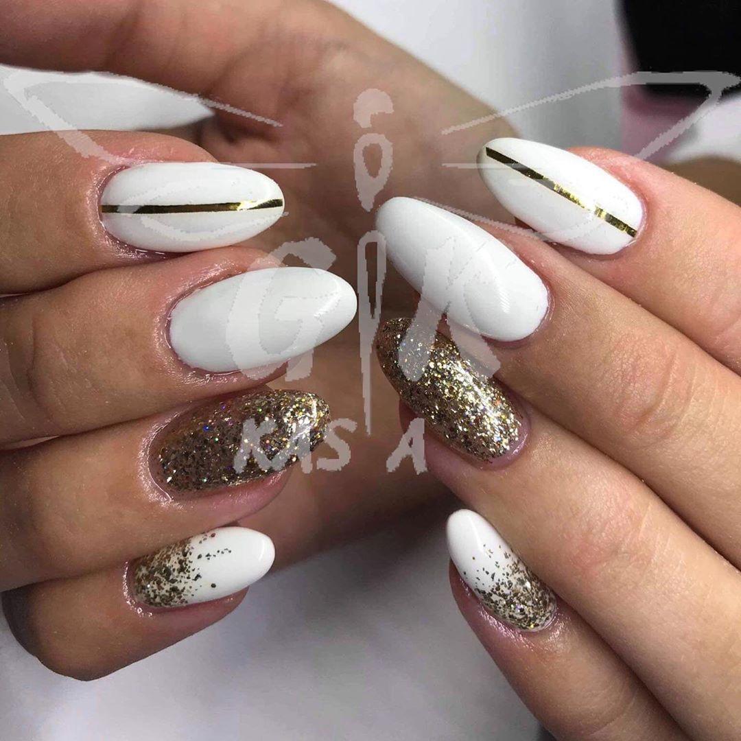 Hybryda Nails Manicure Paznokcie Paznokciehybrydowe Nailart