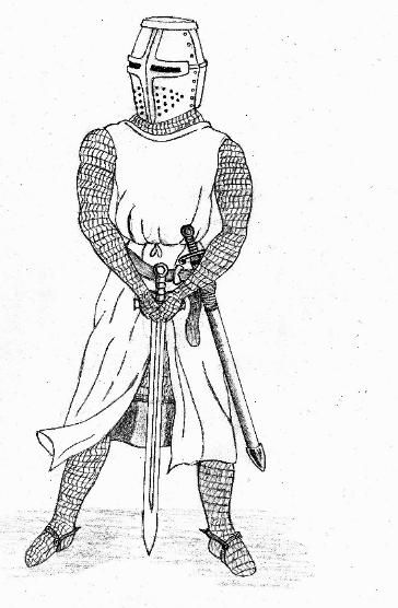 Clothes For A Wooden Form Chainmail Made From Cheese Cloth
