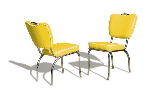 Bel Air Stuhl 8 Farben Retro Fifties CO-26 50er Jahre Diner Stühle Chrom Art Deco, Farbe:Yellow BelAir http://www.amazon.de/dp/B007GMCFSK/ref=cm_sw_r_pi_dp_pdB4ub0SMTA62