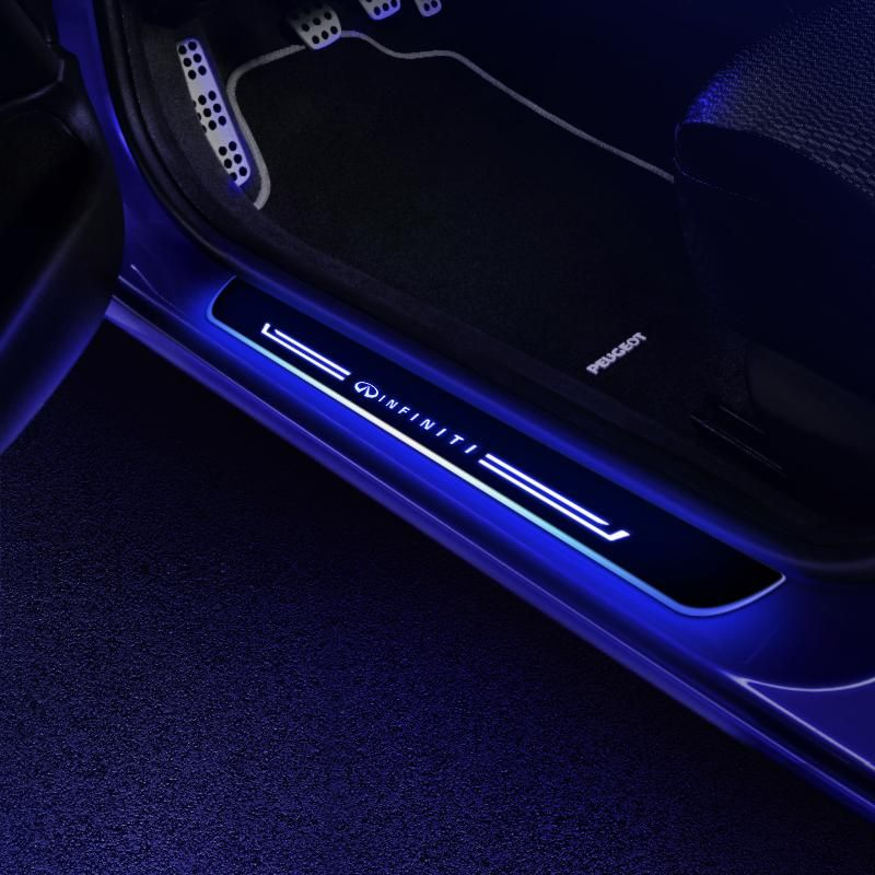 Infiniti Compatible Customize Led Door Side Sill Step In 2020 Light Accessories Jeep Wrangler Accessories Jeep Doors