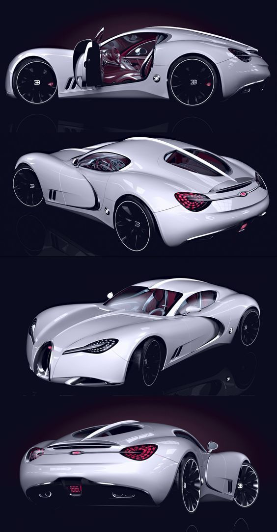 Bugatti Gangloff - Dress Models #conceptcars