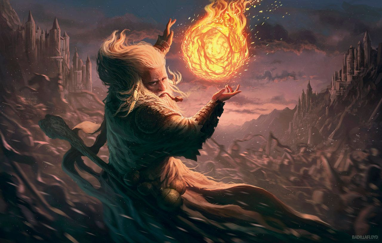 Bola de fuego - MyL by badillafloyd on deviantART | Fantasy wizard, Fantasy  concept art, Fantasy artwork