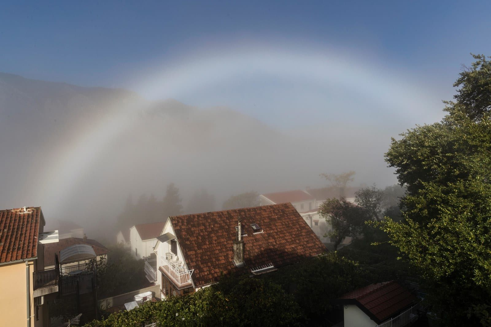 A Rare White Fogbow Has Been Spotted In Scotland