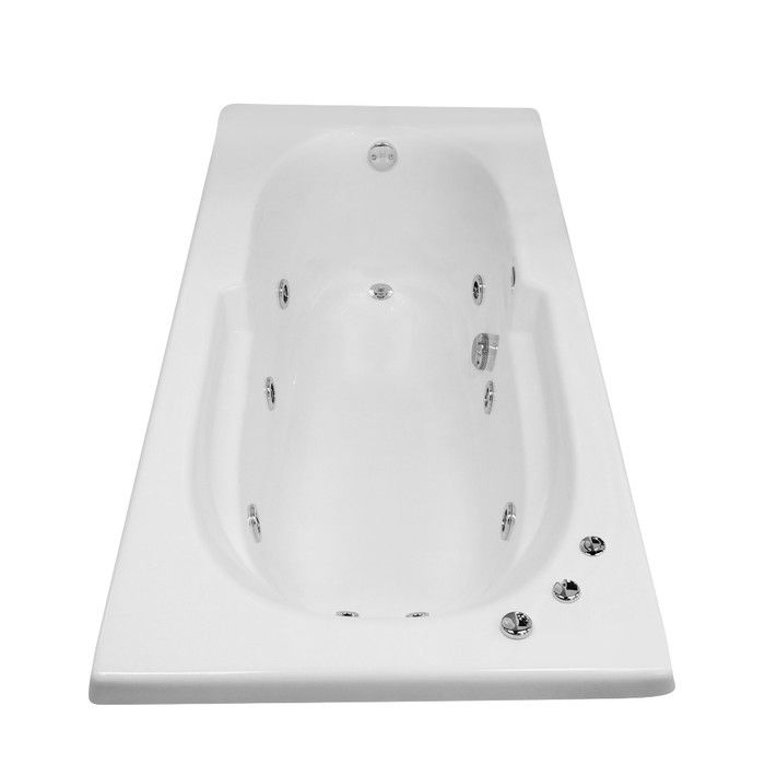 Hygienic Aqua Massage 72 X 36 Whirlpool Bathtub Bathroom In
