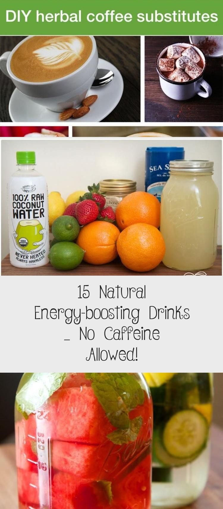 12 Natural Energy Boosting Drinks No Caffeine Allowed What If We Give Up The Fleeting Artificial En In 2020 Energy Smoothies Healthy Drinks Healthy Drinks Detox