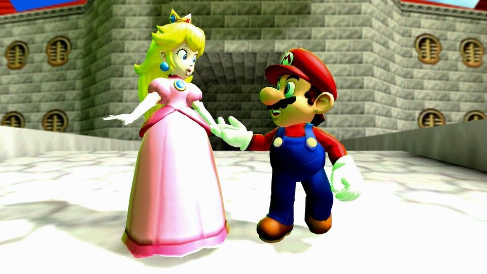 Taking a Stroll | Mario Gmod | Mario, princess peach, Princess peach