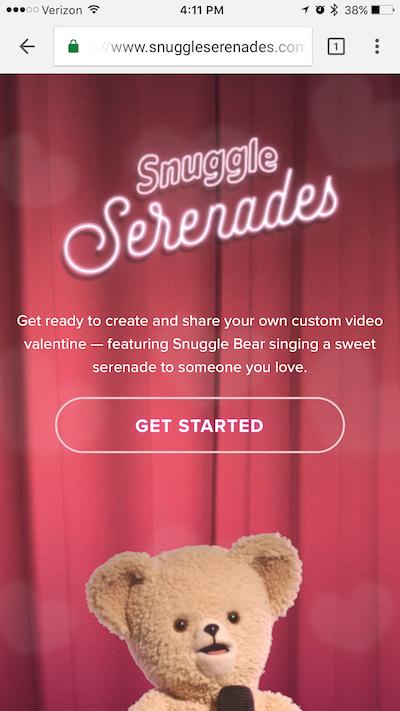 Snuggle turns videos into customer connections