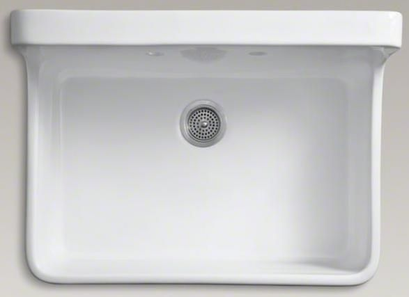 Kohler Gilford Laundry Room Sink Top View Laundry Room