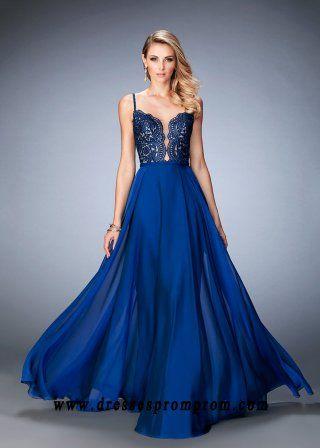 La Femme 22845 Elegant Lace Patterned Bodice Evening Gown Sale ...