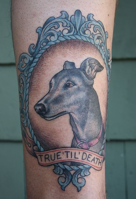 True tattoo tatting and greyhound tattoo for Greyhound tattoos designs