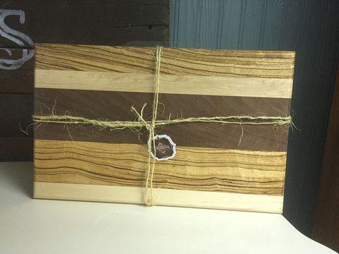 Handmade Wooden Butcher Block Cutting Board