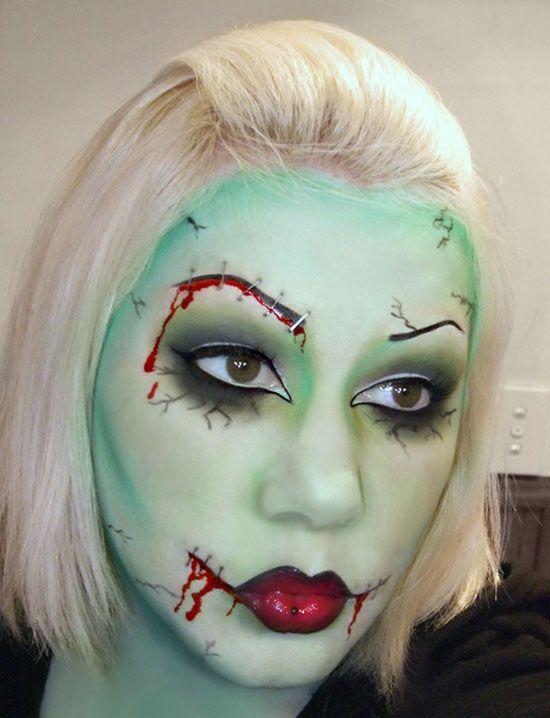 Beautiful Halloween Face Ideas Makeup Pictures - harrop.us - harrop.us