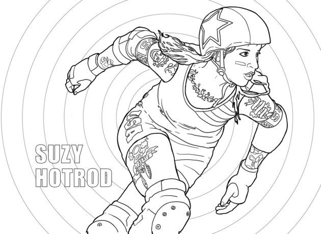 margot atwell is raising funds for color jam roller derby coloring book on kickstarter roller derby is an incredibly colorful sport