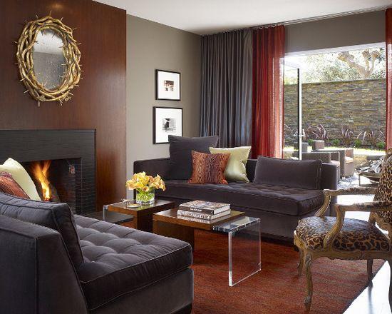 16 große Wohnzimmer Design und Dekor Ideen mit Samt Möbel   neuedekorationsideen   Vibrant ...