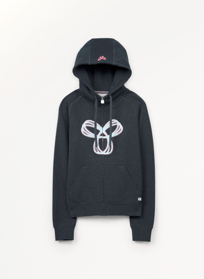 TNA PACIFIC HOODIE - An easy-wear hoodie with an embroidered Spiro