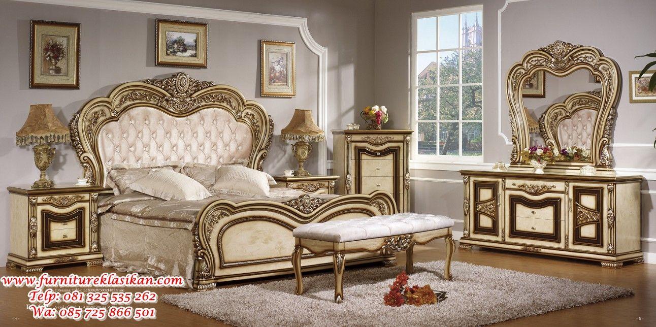 desain tempat tidur klasik modern, gambar desain tempat ...