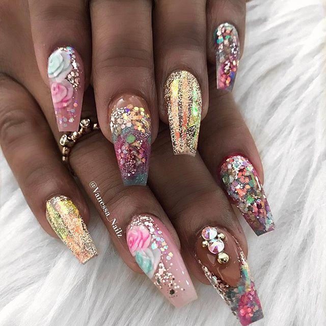 Pin de Alexandra Aleman en Nails | Pinterest | Diseños de uñas, Uñas ...