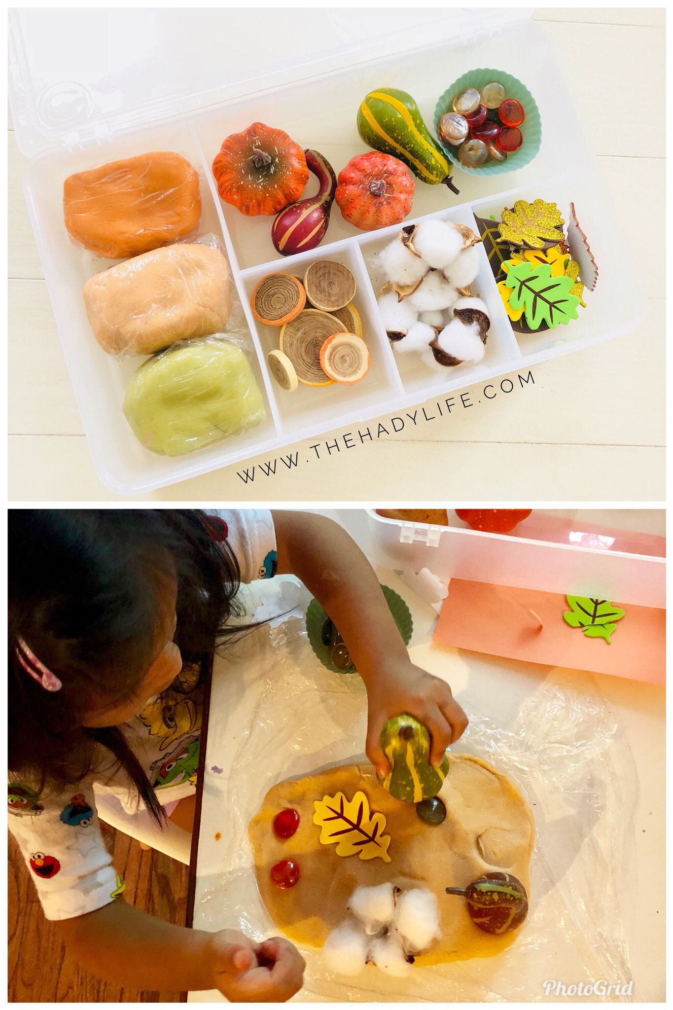Sensory play play dough kit for kids. Encourages