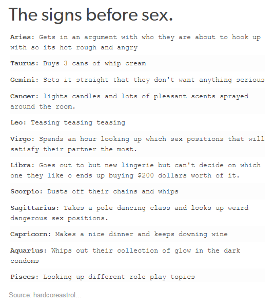 Things To Know Before Hookup An Aries