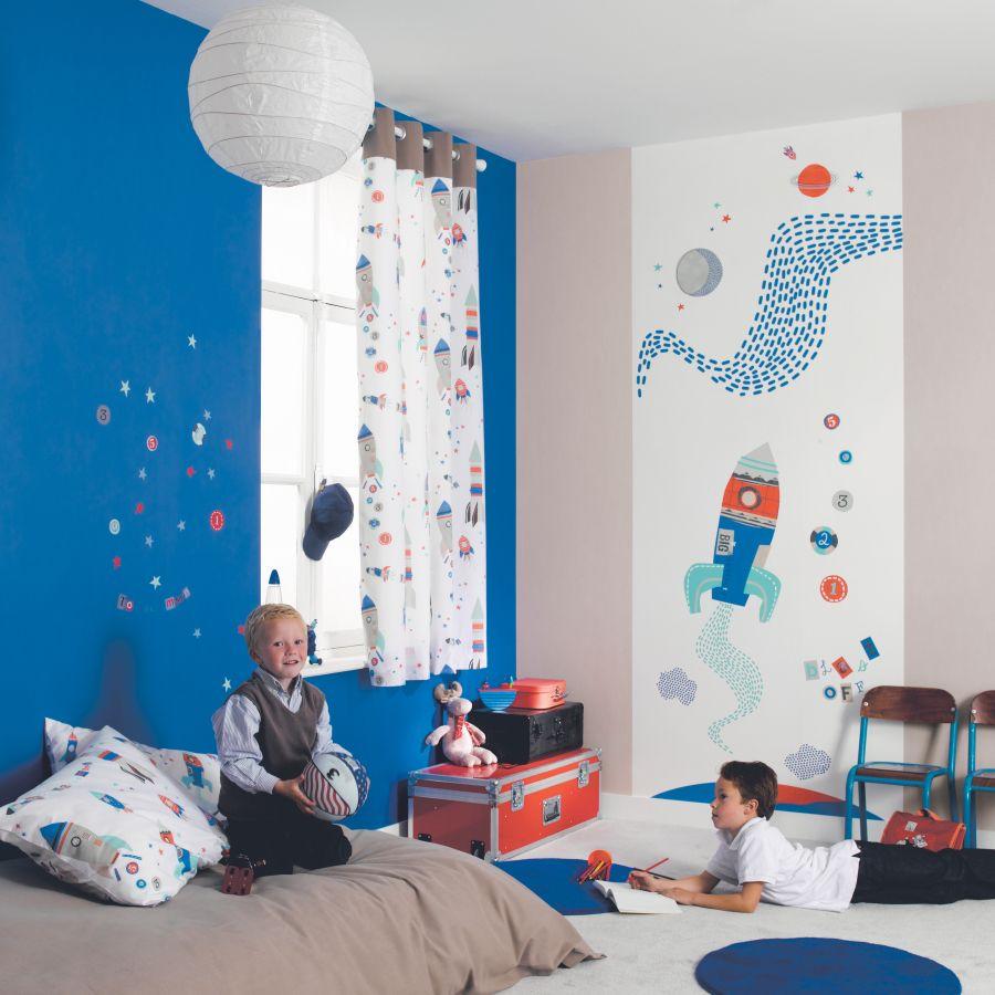 Casadeco Tapeten & Stoffe Happy World Kinderzimmer