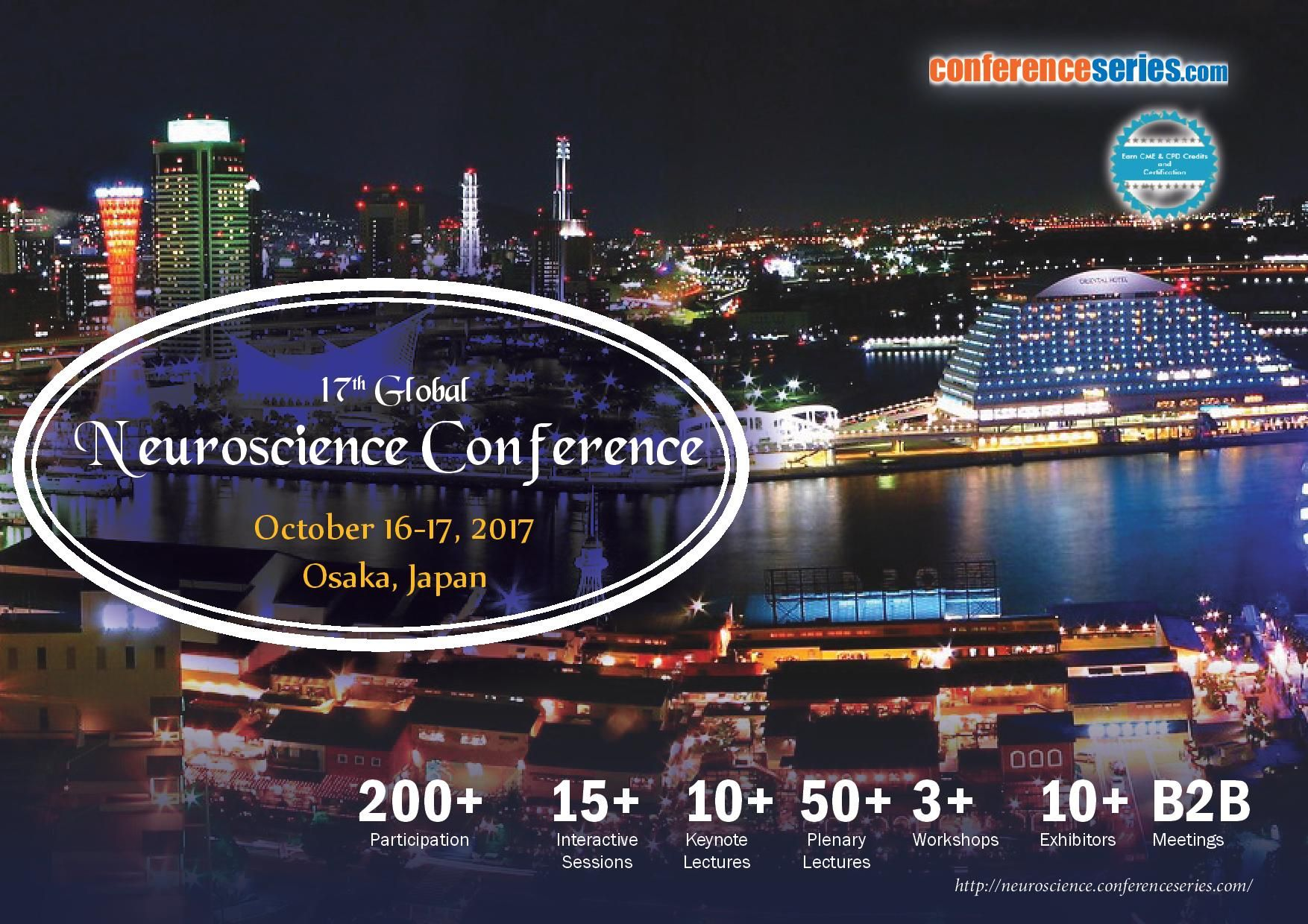 17th Global Neuroscience Conference October 1617, 2017