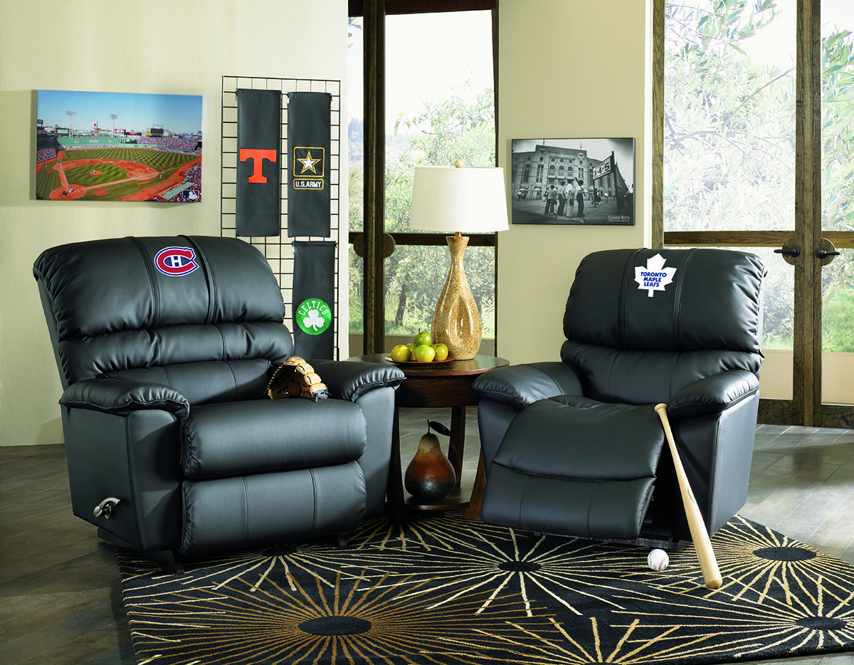 Add Your Teams Logo To Your La Z Boy Recliner Eames Lounge