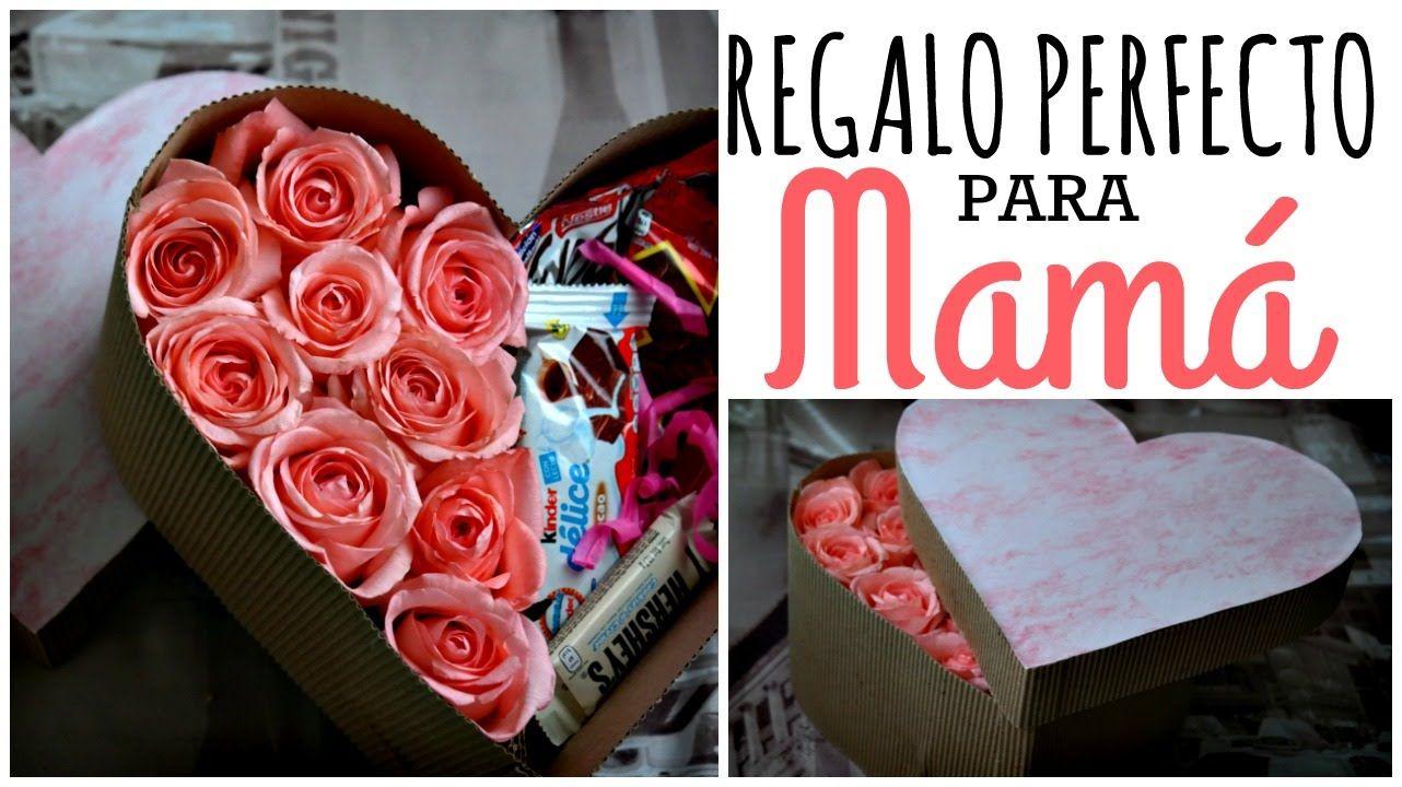 Caja De Rosas Regalo Facil 10 De Mayo 10 De Mayo Regalos Caja De Rosas Regalos De Cumpleanos Manualidades