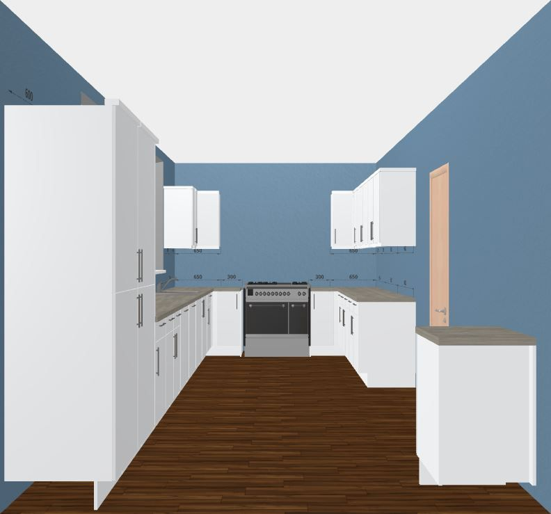 Modern Kitchen Design. Glossy White Kitchen. Free 3D Kitchen Planner By  Direct Online Kitchens Part 63