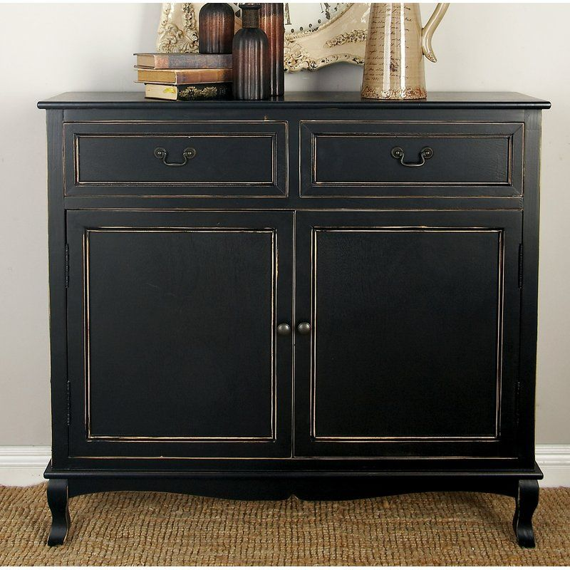 Best Hargrave Wood 2 Drawer 2 Door Accent Cabinet Accent 400 x 300