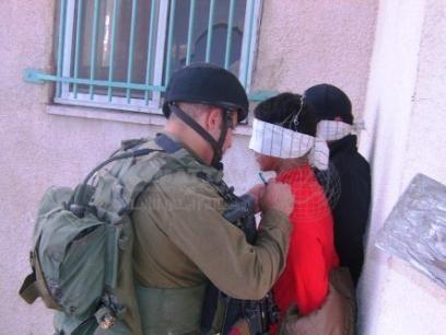 Israel Police arrest children aged 12 to 15 in night raids in Silwan, East Jerusalem (2010)