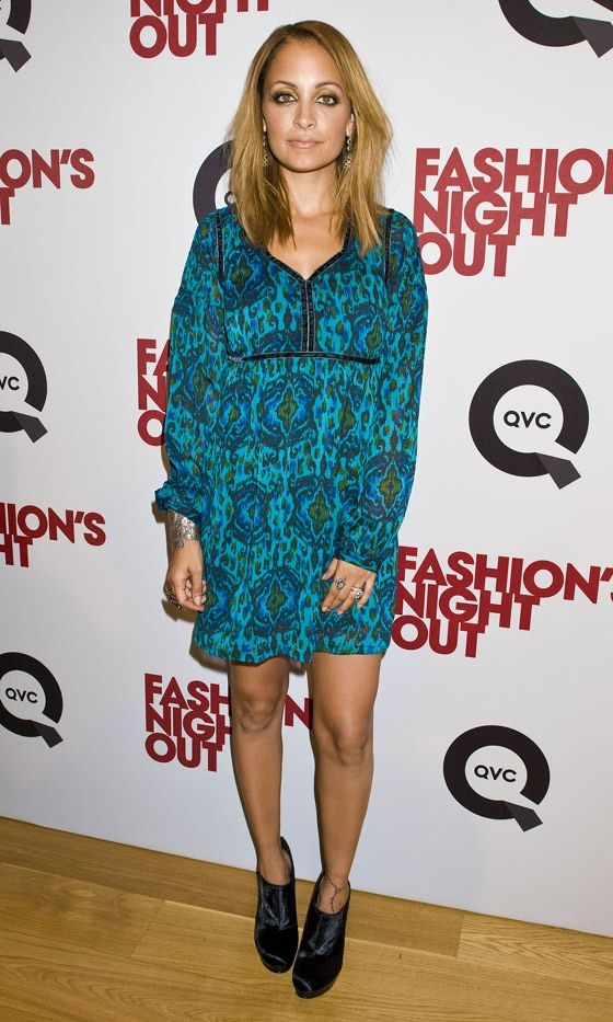 Nicole Richie At Fashion Night Out In New York, 2012