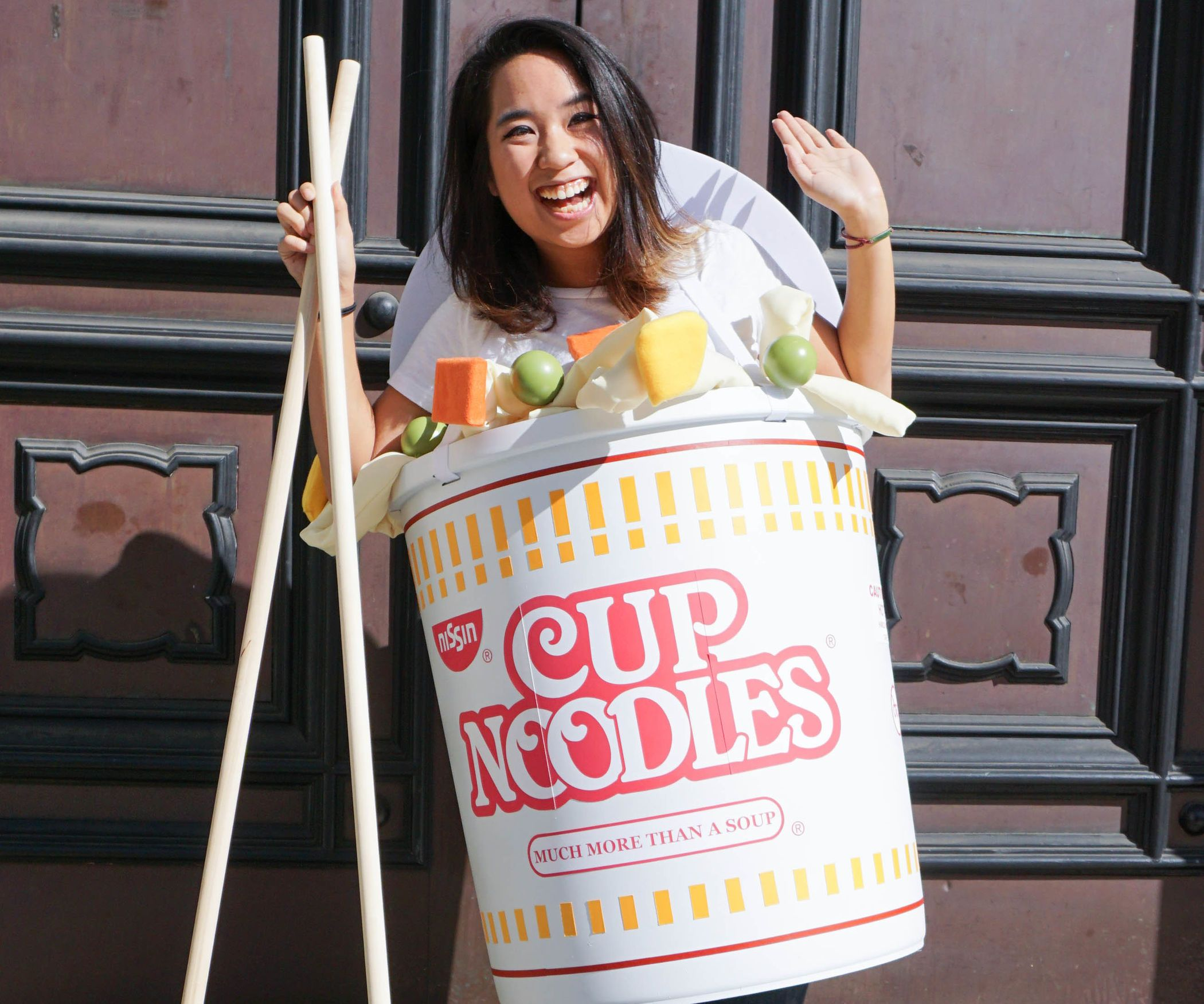 Cup Noodles Costume Halloween costumes to make, Food
