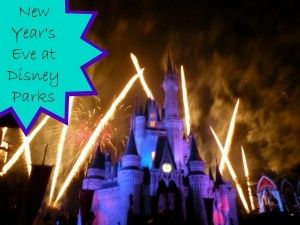 Are you planning on being at either Walt Disney World or Disneyland on New Year's Eve this year? Maybe you are even thinking  about a New Year's Eve trip f