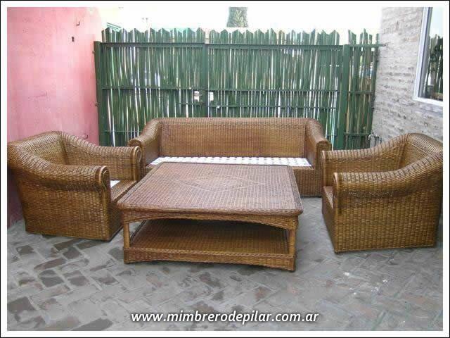 muebles de mimbre muebles de ratn