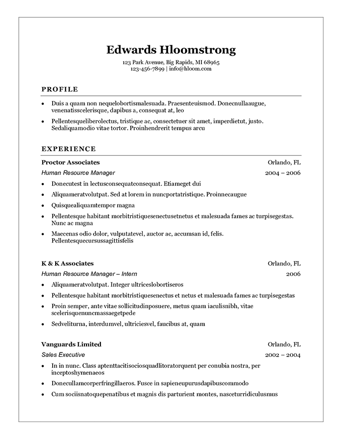 Student Resume Templates That Gets Results (With images