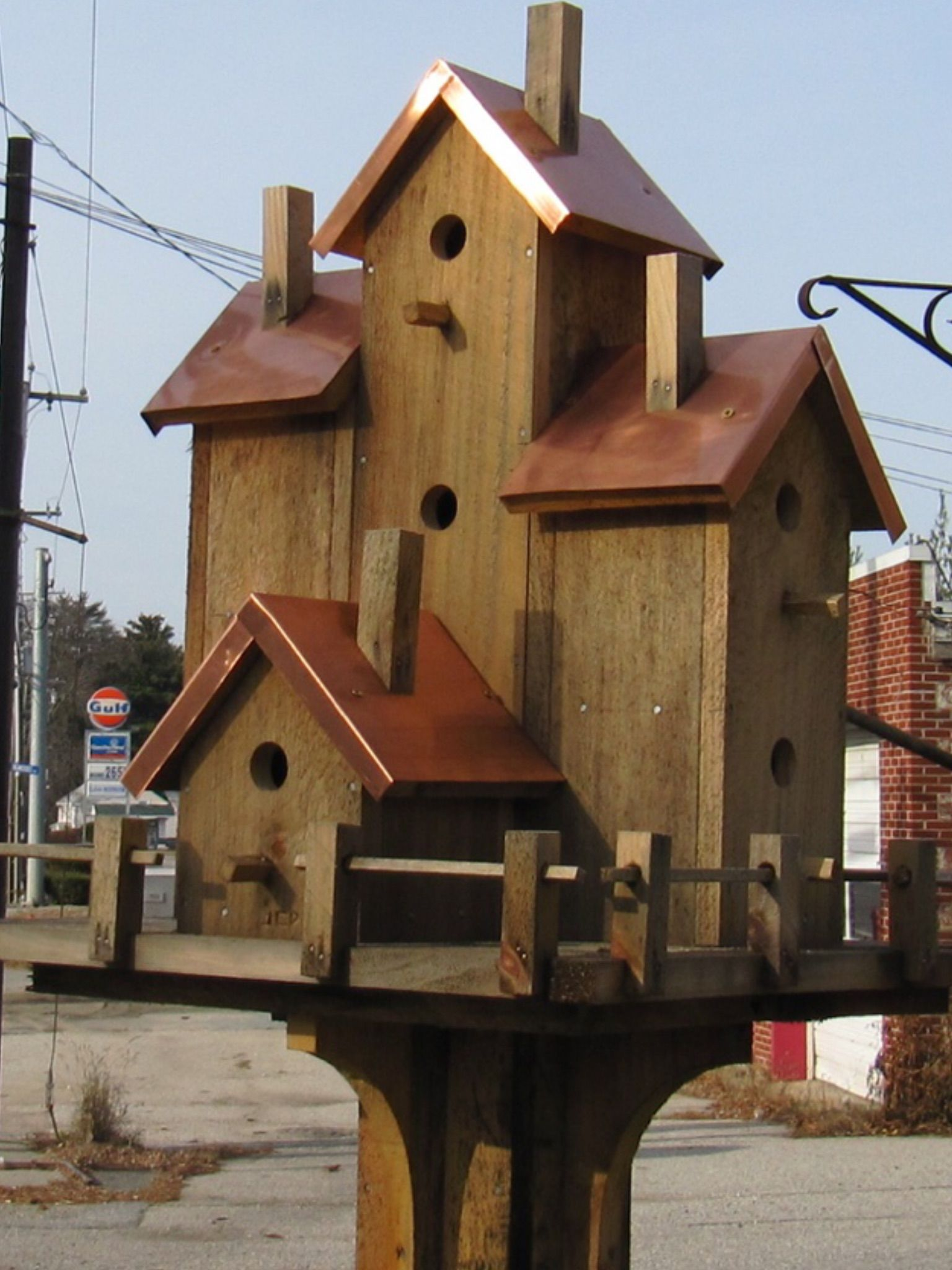 Pin by Jim Donnelly on Bird houses/Squirrel feeders | Pinterest ...