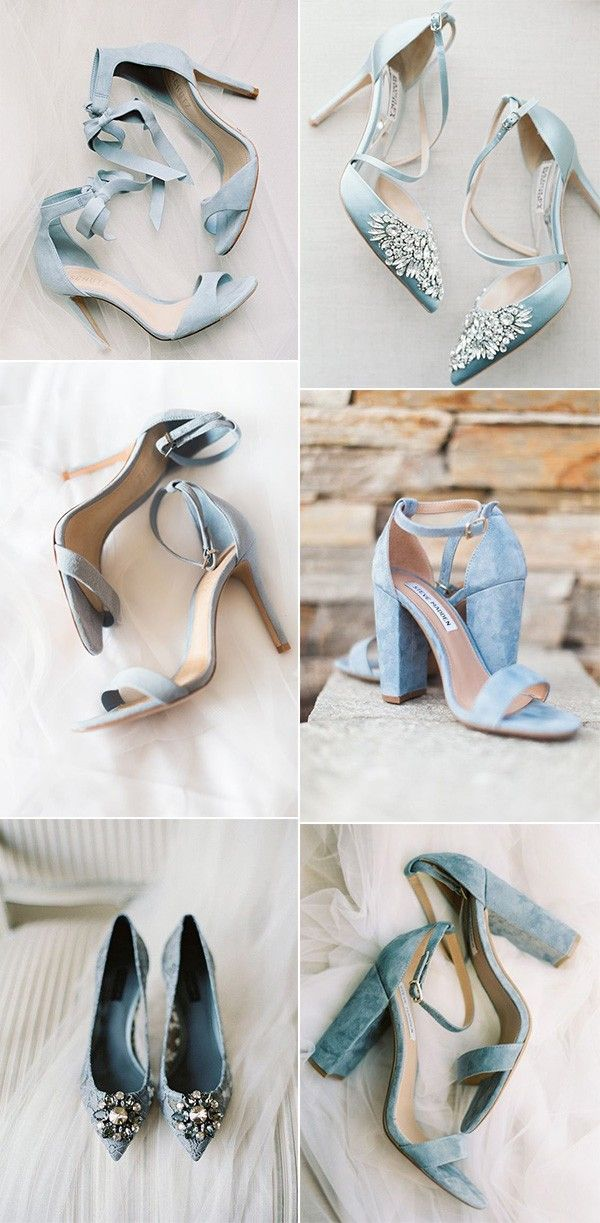 37 Prettiest Shades of Blue Wedding Ideas for 2019 Trends  Page 2 of 2 37 Prettiest Shades of Blue Wedding Ideas for 2019 Trends  Page 2 of 2 pretty blue wedding shoes fo...