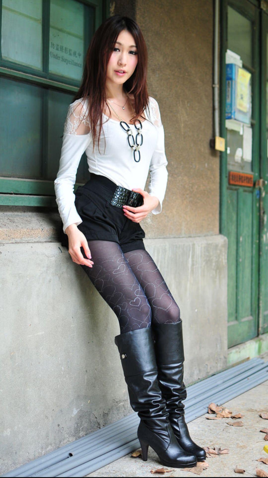 Asian Girls In Boots Asian Beauties Pinterest Boots Asian