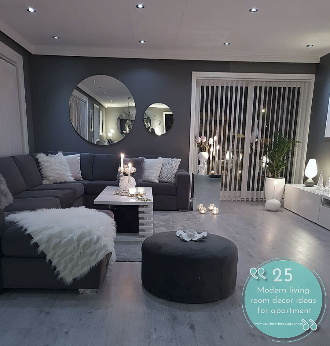 32 Modern Living Room Design Ideas From Different Countries