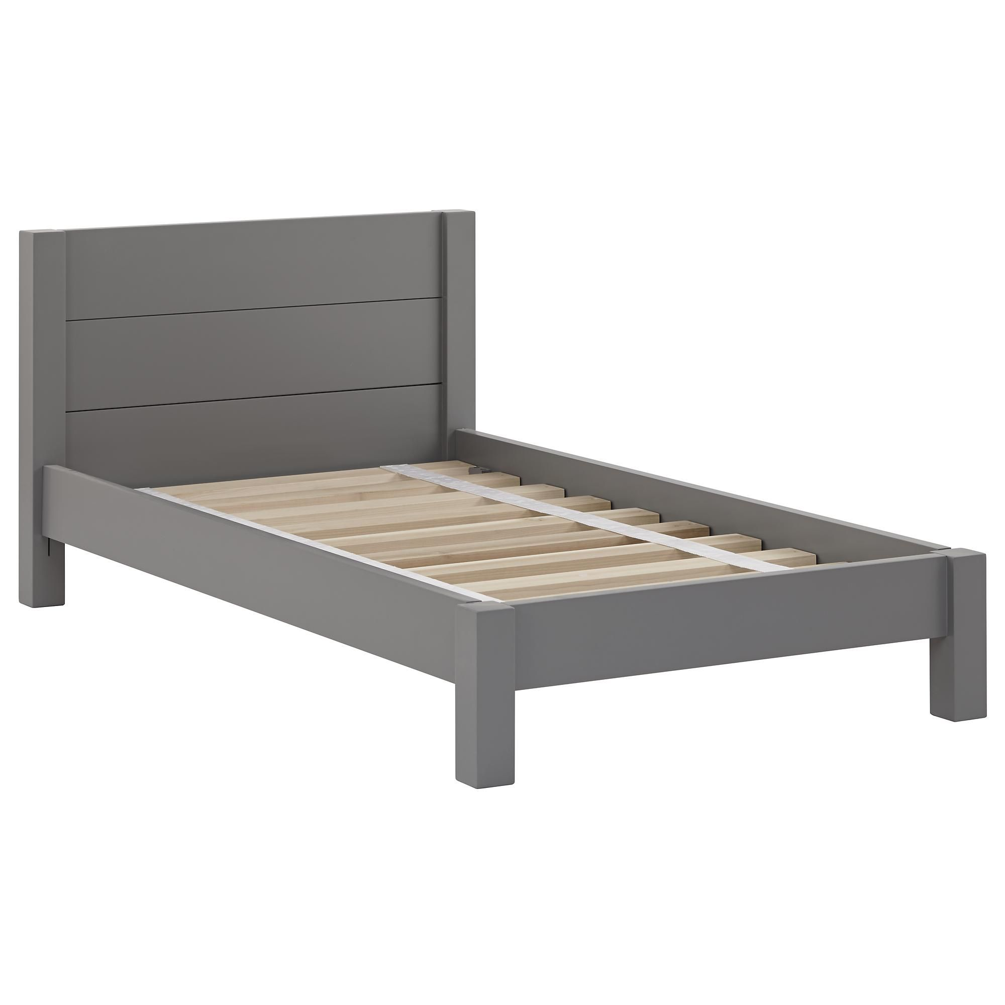 Uptown Toddler Bed (Grey) | The Land of Nod | andy\'s room | Pinterest