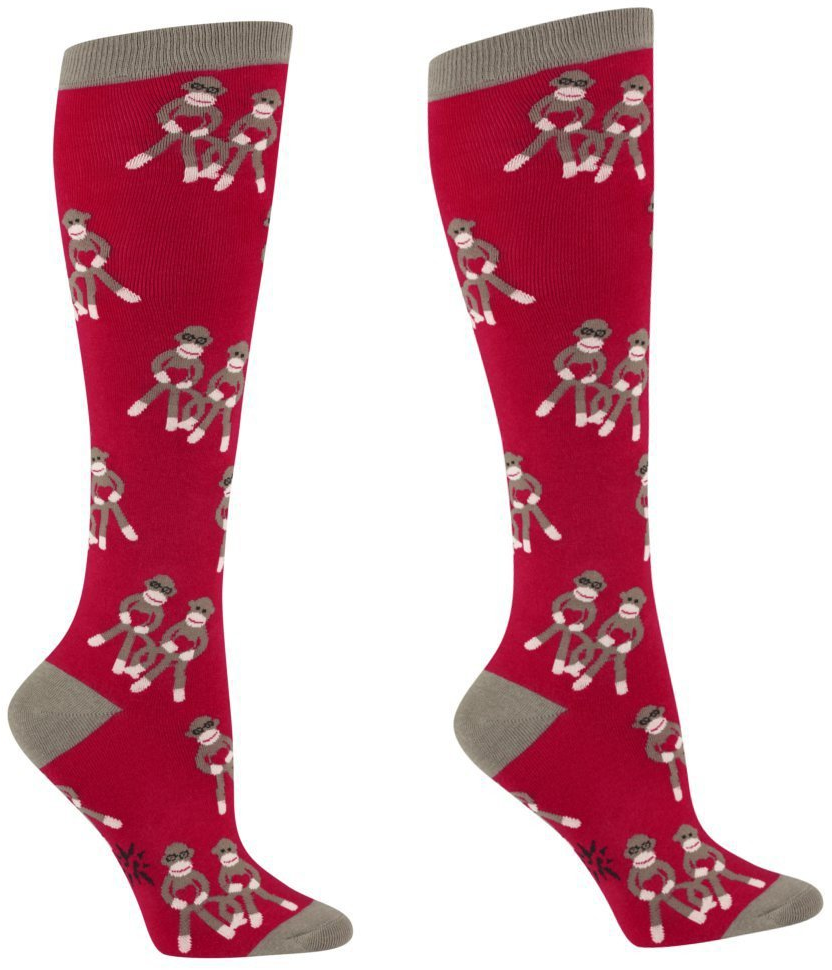 #alwaysfits.com           #love                     #Sock #Monkey #Love #Women's #Knee #Socks #Sock     Sock Monkey Love Women's Knee Socks by Sock it To Me                                                    http://www.seapai.com/product.aspx?PID=265569