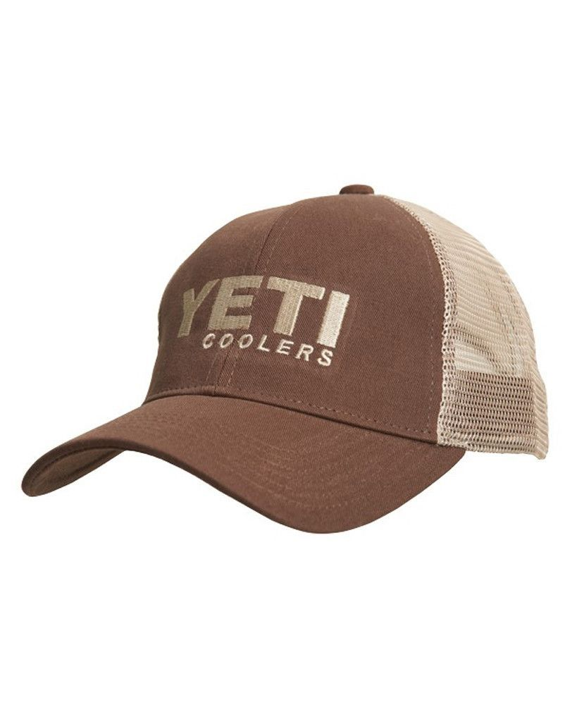 The Traditional Trucker hat is a must-have for anyone is a dedicated fan of  the Yeti brand! 36453d81780